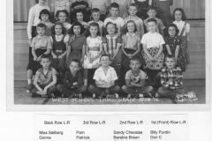 West-Elem-3rd-grade-1955-56-with-names